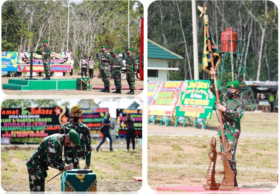 Pangdam II/Swj Resmikan Satuan Baru Brigade Infanteri 8/Garuda Cakti